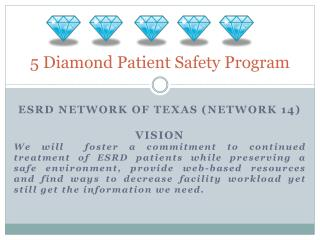 5 Diamond Patient Safety Program