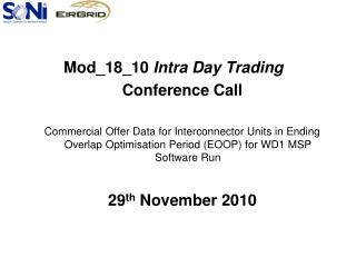 Mod_18_10  Intra Day Trading Conference Call