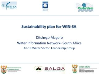 Sustainability plan for WIN-SA