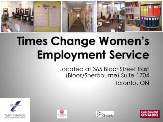 Times Change Women's Employment Service