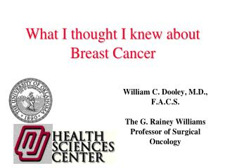 Surgery - Breast Diseases