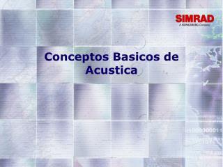 Conceptos Basicos de Acustica