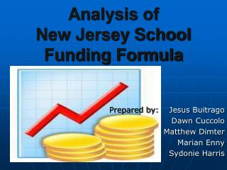 Analysis of  New Jersey School  Funding Formula