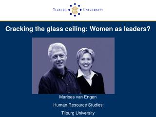Cracking the glass ceiling: Women as leaders?