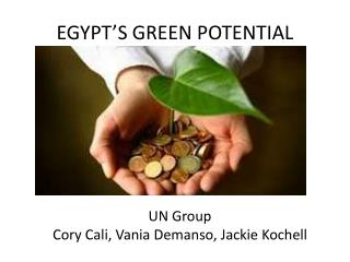 EGYPT'S GREEN POTENTIAL