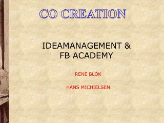 IDEAMANAGEMENT & FB ACADEMY