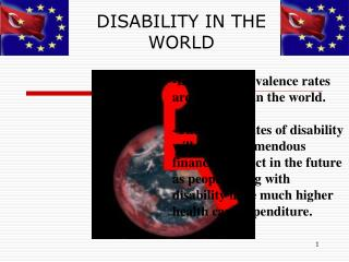 DISABILITY IN THE WORLD