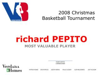 2008 Christmas Basketball Tournament