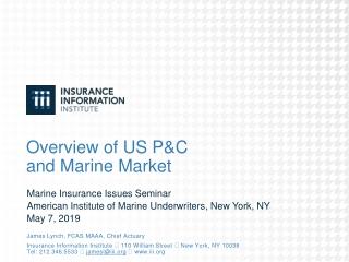 American Marine Insurance Forum   April 28, 2005