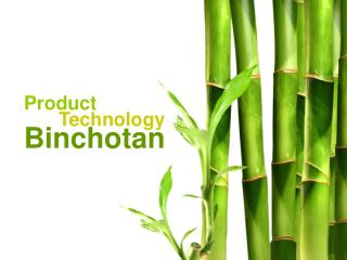 Product  Technology Binchotan