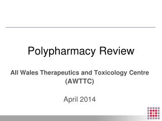 Polypharmacy Review