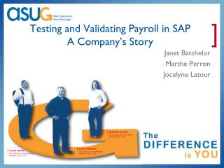 Testing and Validating Payroll in SAP  A Company's Story
