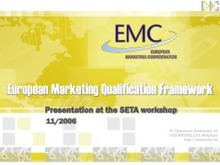 European Marketing Qualification Framework