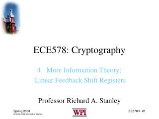 ECE578: Cryptography