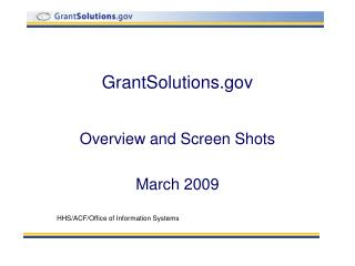 GrantSolutions