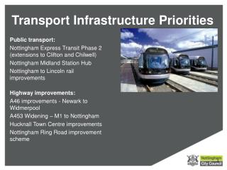 Transport Infrastructure Priorities
