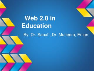 Web 2.0 in Education