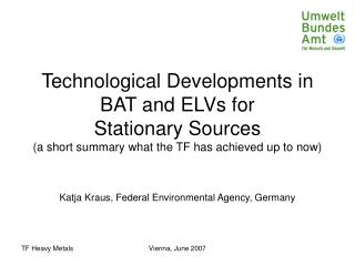 Katja Kraus, Federal Environmental Agency, Germany