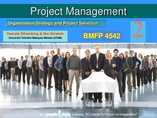 Organization Strategy and Project Selection