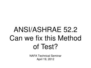 April 19, 2012  slide 1