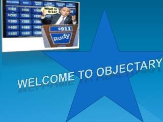 Welcome to  Objectary !