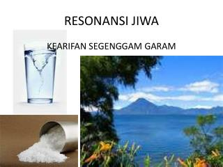RESONANSI JIWA
