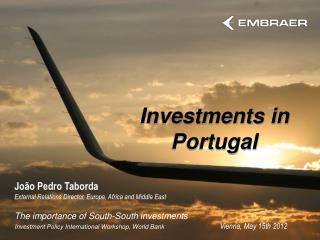 Investments in Portugal