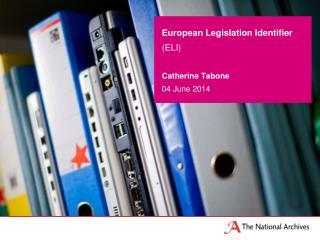 European Legislation Identifier