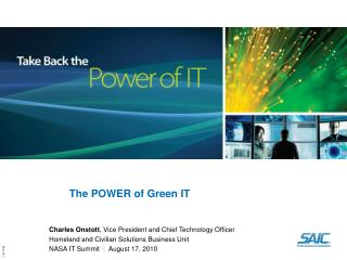 The POWER of Green IT