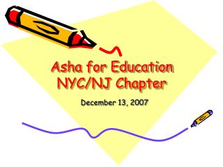Asha for Education NYC/NJ Chapter