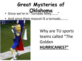Great Mysteries of Oklahoma