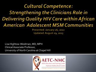 Circumcision Status and HIV Infection among Black and Latino MSM in 3 US Cities