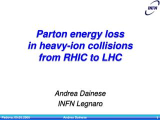 Parton energy loss in heavy-ion collisions from RHIC to LHC