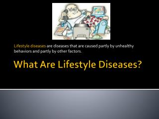 What Are Lifestyle Diseases?