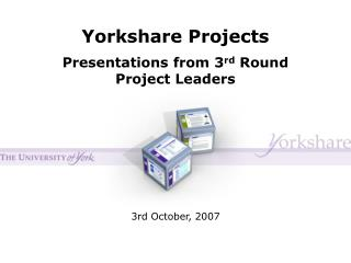 Yorkshare Projects