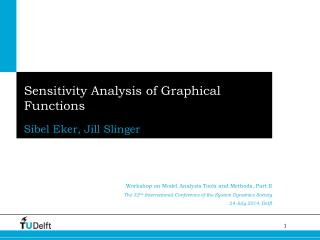 Sensitivity Analysis of Graphical Functions