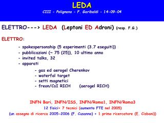 LEDA CIII - Polignano - F. Garibaldi - 14-09-04