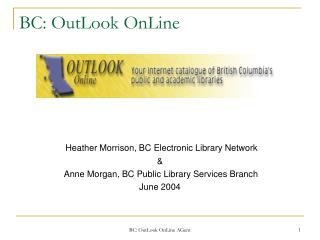 BC: OutLook OnLine