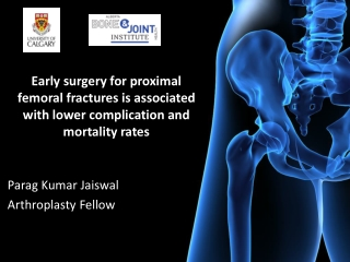 Parag Kumar Jaiswal Arthroplasty Fellow
