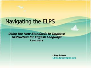 Navigating the ELPS