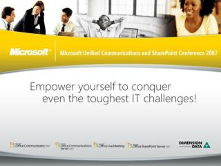 Keith Monale Senior Consultant Microsoft Consulting Services