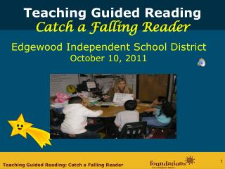 Teaching Guided Reading Catch a Falling Reader