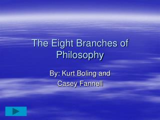 The Eight Branches of Philosophy