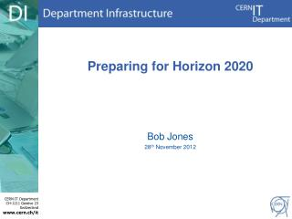 Preparing for  Horizon 2020