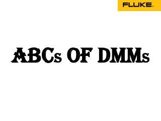 Fluke India - ABC's of DMM