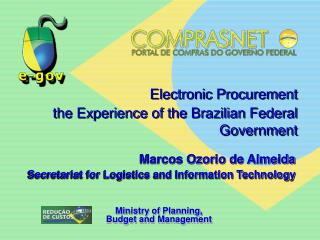 Electronic Procurement the Experience of the Brazilian Federal Government