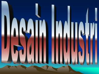 HKI terkait Desain Industri