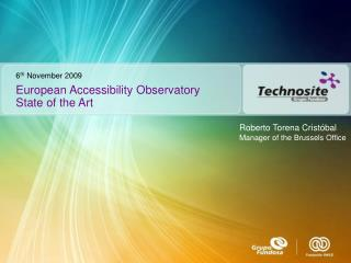European Accessibility Observatory State of the Art