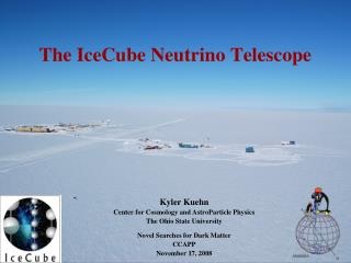 The IceCube Neutrino Telescope