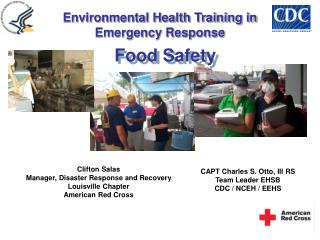 Clifton Salas Manager, Disaster Response and Recovery Louisville Chapter American Red Cross